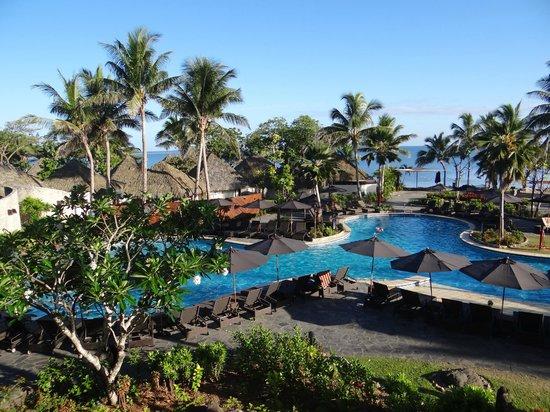 Sofitel Fiji Resort & Spa: вид с балкона