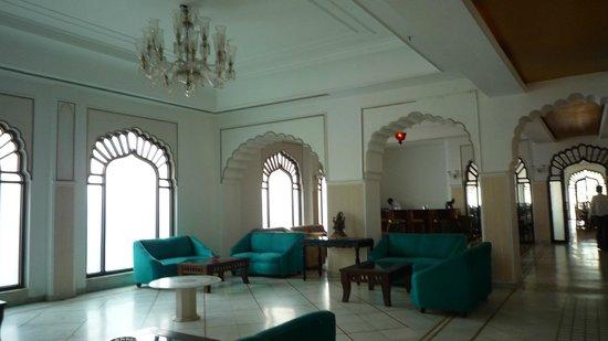 Utkarsh Vilas : salon à coté de la reception
