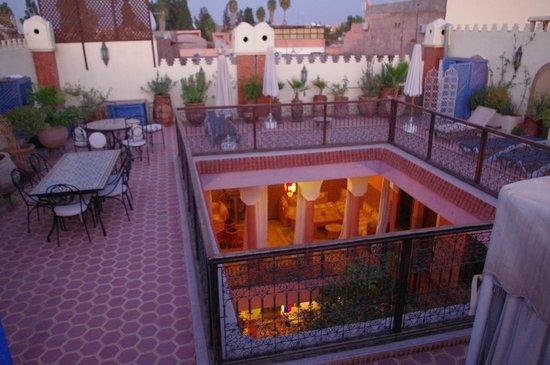 Riad Lakhdar : terrasse