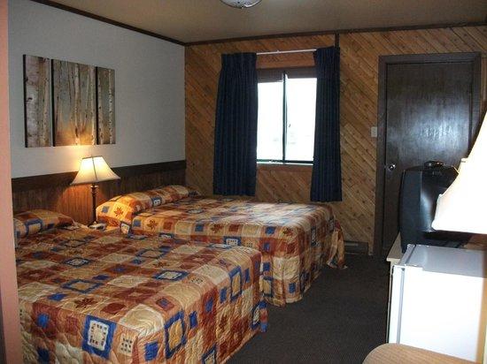 Hotel Roquemont: Chambre confort, 2 lits doubles