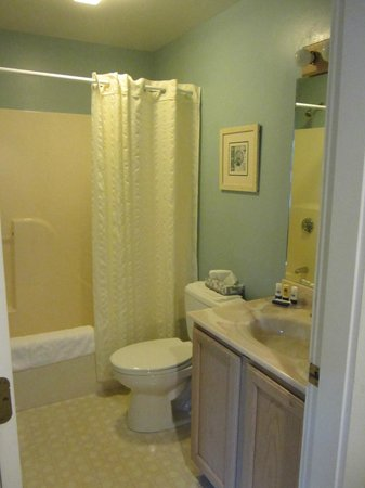 Glen Cove Inn & Suites: Bathroom