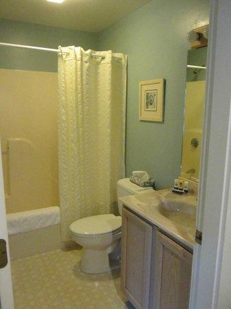 Glen Cove Inn & Suites : Bathroom