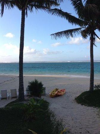 Palm Grove : La vista dalla nostra stanza.....