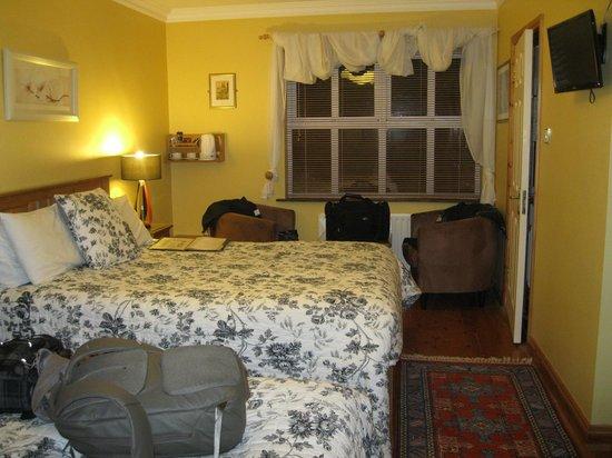 Ballyvaughan Lodge: Our room