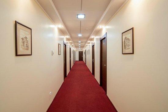 Splendid Hotel, Mamaia - hallway