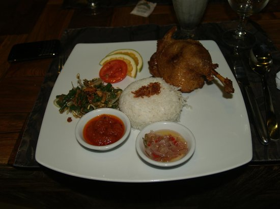 Sri Ratih Cafe & Jewelry: duck
