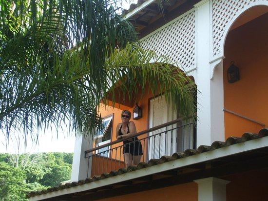 Pousada Corsário Búzios: En el balcón