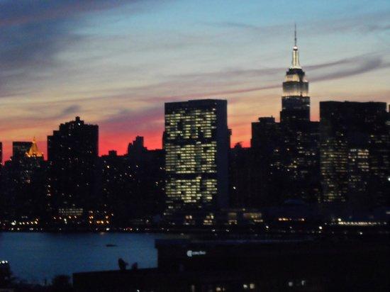 Z New York Hotel: Nice sunset