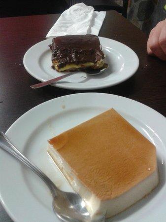 El Zamorano: tarta de la abuela y tarta de queso