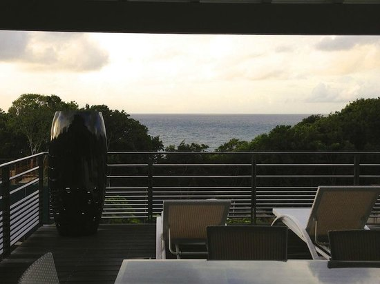 La Toubana Hotel & Spa: vue de notre terrasse