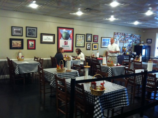 Irondale Cafe Incorporated: One of several dining areas.