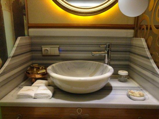 Hotel Sultania: Waschstation