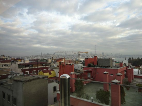 Hotel Sultania: Blick von der Dachterasse