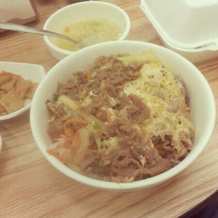 Kibu Cafe: bulgoki don..egg and beef pancake