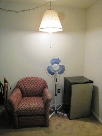 Chalet Killington: angolino della stanza