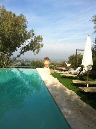 Villa Cicolina: басейн