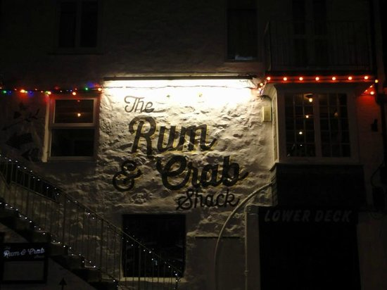 The Rum and Crab Shack: The entrance