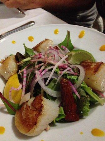 On Dine a Calvi Plage : capesante grigliate