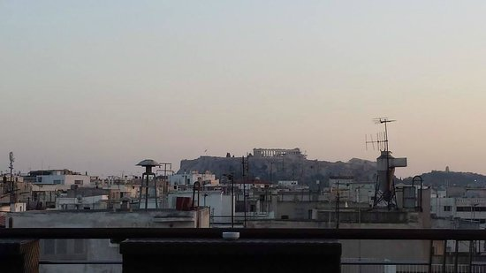 Melia Athens: View from rooftop