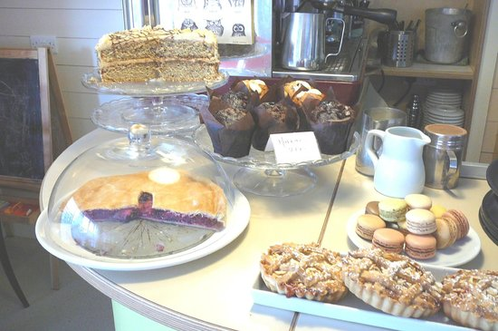 Richys Restaurant: Cakes, pies, muffins Oh My! @ Richy's Bar and Bistro