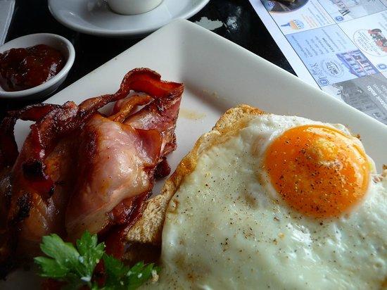 Cuccina: Oeufs au bacon