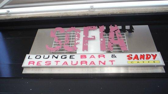 Sofia Lounge Bar & Restaurant: dedicato a Sofia Loren