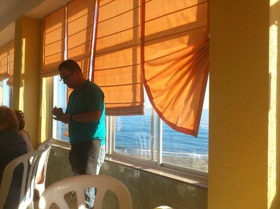 Restaurante Antonio Moreno: Tomando nota de la comanda
