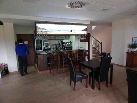 Hotel Rural Playa de Aguilar: bar
