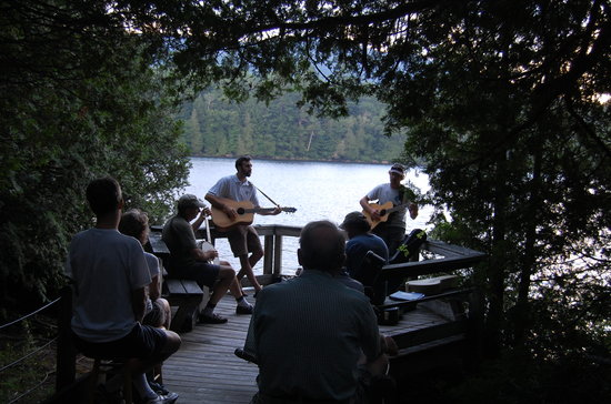 "Adirondack Interpretive Center: The AIC offers various public programs such as ""Music in the Woods"" in July 2013"