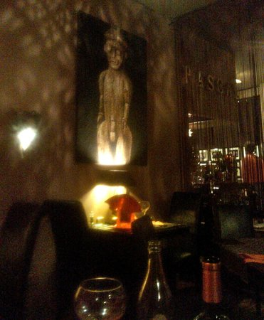 Pascal Le Restaurant : View from our table - inappropriate?!