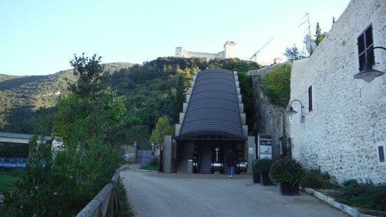Percorso Meccanizzato Ponzianina-Rocca : ingresso