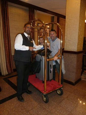 Hotel Newton: Great staff