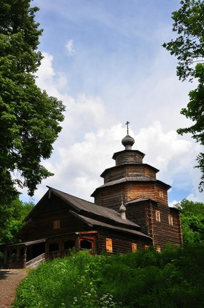 Museum of Folk Architecture and Life of the Peoples of Volga Nizhny Novgorod