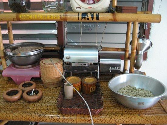 Kappa's Coffee : macchina tostatrice