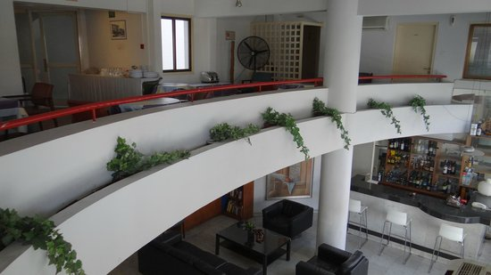 Frangiorgio Hotel Apartments: The mezzanine where breakfast is taken upon request