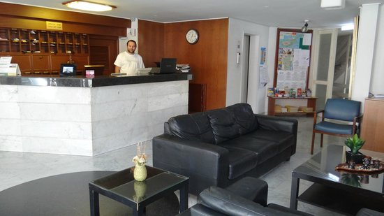 Frangiorgio Hotel Apartments: Reception lounge