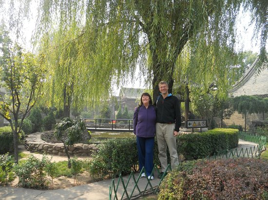 Pingyao Ancient Government Office: Beautiful peaceful garden