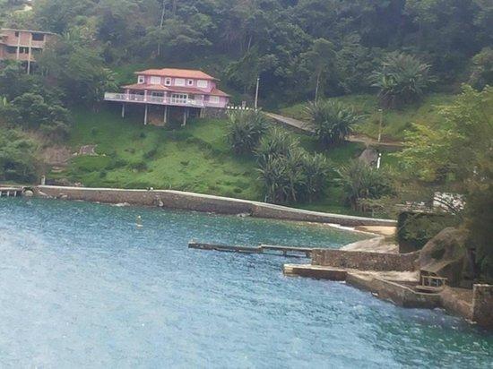 Pousada Ponta do Leste: Fundo da pousada