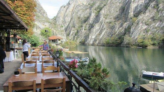 Dolna Matka, Republic of Macedonia: Hotel Canyon Matka