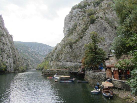 Dolna Matka, Republic of Macedonia: Canyon Matka