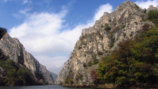 Dolna Matka, Republika Macedonii: Canyon Matka