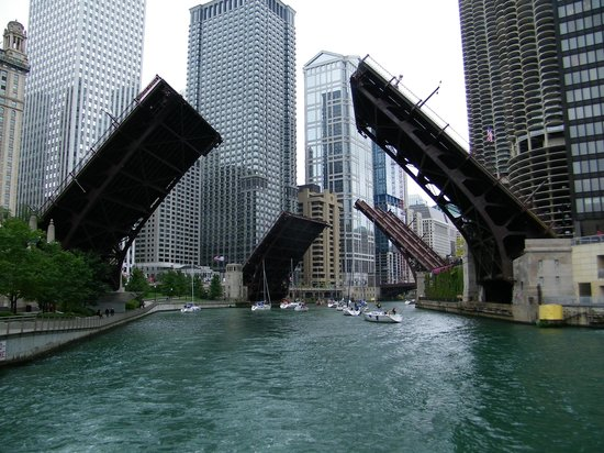 Image result for chicago drawbridges