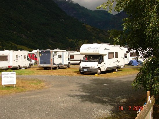 Geiranger Camping: Camping
