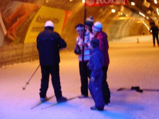 Hotel Vuokatinhovi : Лыжный тоннель в 7 мин пешком от отеля
