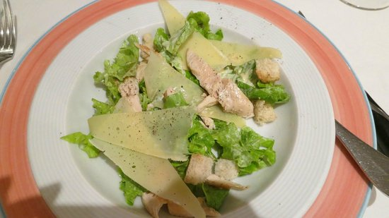 San Telmo Bar Restaurante: Chicken Caesar..very tasty