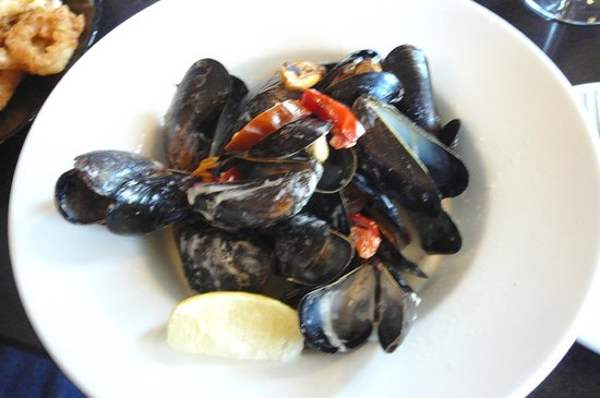 O'Connors Seafood Restaurant : Mussels steamed with jalapeno & cream @ O'Connor's Seafood Restaurant