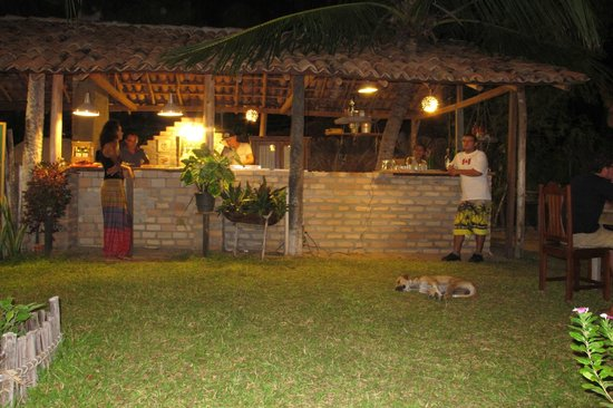 Maresia-Atins: Restaurante aberto para jantar