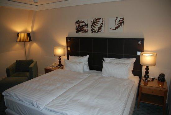 Hilton Dresden Hotel: the cosy room