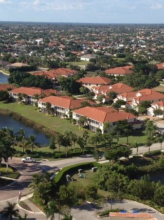 The Westin Cape Coral Resort At Marina Village: views from atop
