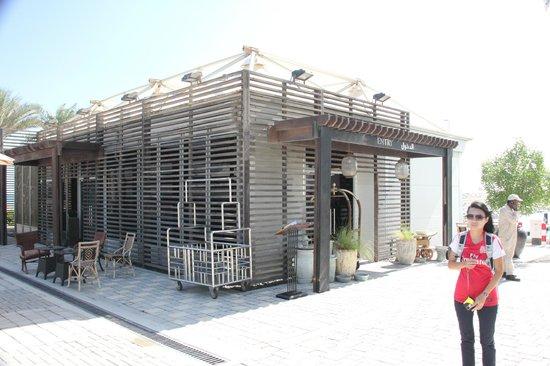 Anantara Desert Islands Resort & Spa: Jetty to the island